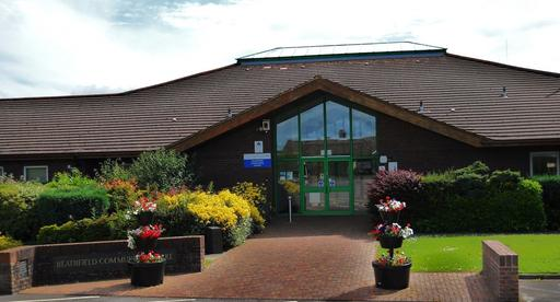 A photograph of the outside of Heathfield Community Centre