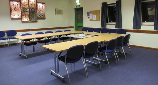 A Photograph of the Heathfield Community Centre Meeting Room
