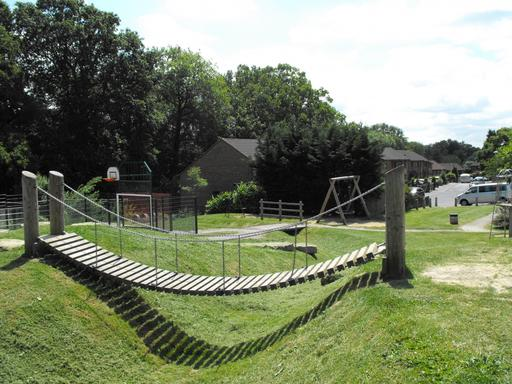 A photograph of Leeves Common Play Area