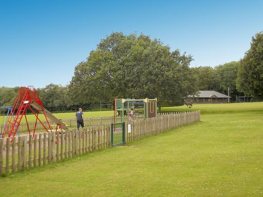 A photograph of Waldron Recreation Ground