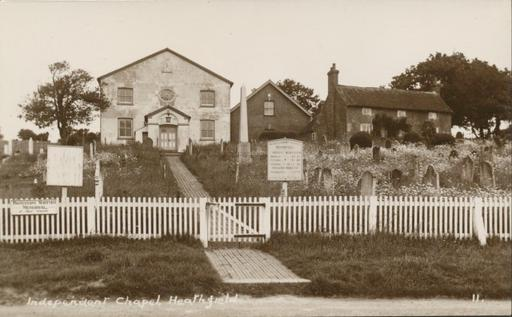 A photograph of Independent Chapel, Heathfield, East Sussex c1930.
