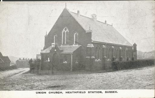 A photograph of Union Church, Heathfield, East Sussex 1900