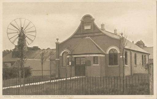 A photograph of The Welcome Mission, Heathfield, East Sussex c1920.