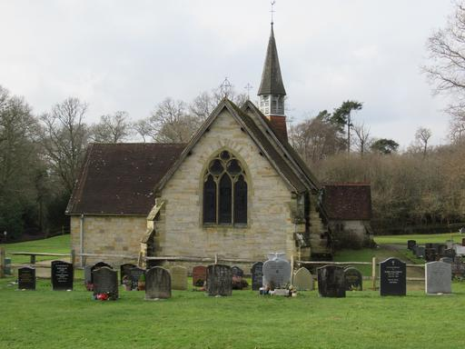 A photograph of St Bartholomews Burial Ground