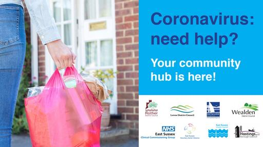 East Sussex County Council Community Hub Leaflet